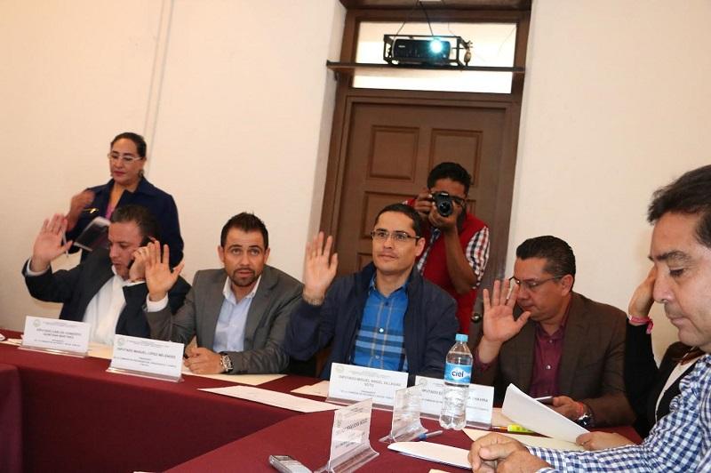 Se aprobó la propuesta del diputado Ernesto Núñez para solicitar información sobre las reducciones presupuestales a las UPPs Secretaría de Comunicaciones y Obras Públicas, Secretaría de Salud, Secretaría de Medio Ambiente y Cambio Climático y Secretaría de Cultura, entre otras