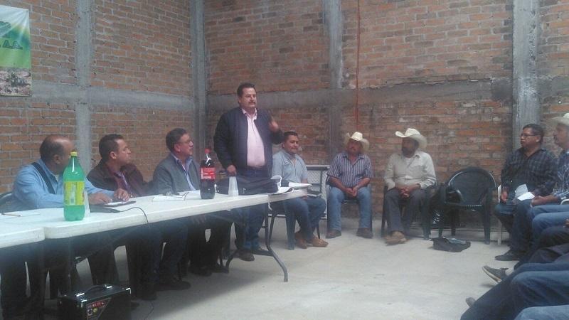 Lo anterior fue dado a conocer por el director de Delegados, Octavio Ocampo Peña y el delegado regional Erick Negrón Romero