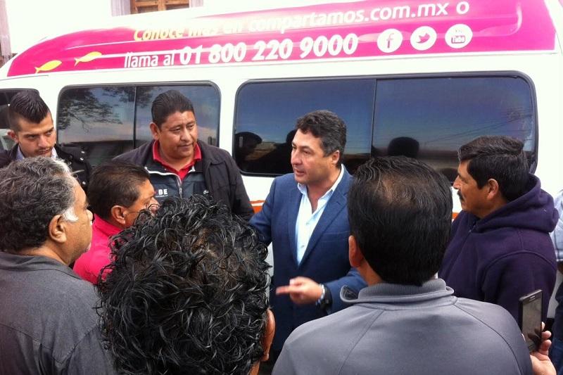 En reunión con transportistas el edil sostuvo que cualquiera que sea la naturaleza de la problemática es responsabilidad y atribución legal del gobierno del estado