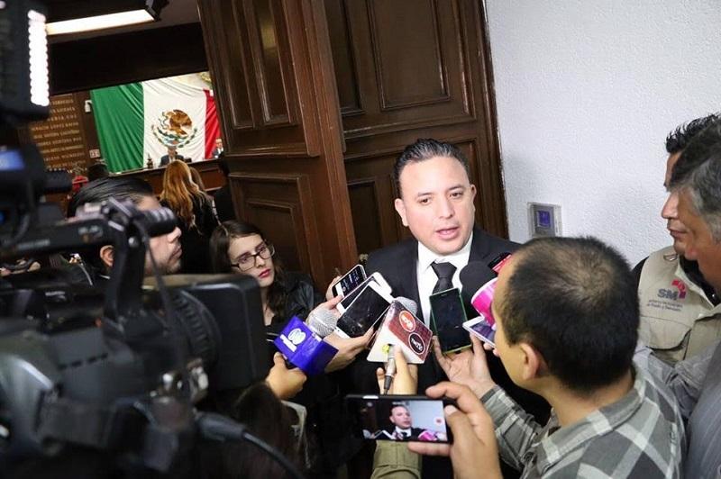 El diputado de Morelia externó su preocupación ante el recrudecimiento de la violencia en diversos puntos del estado