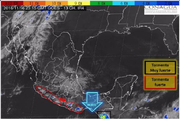 En Michoacán, las bajas temperaturas se presentan en los meses de noviembre y enero principalmente en las regiones de Uruapan, Pátzcuaro, Zamora, Zitácuaro y Morelia