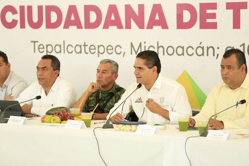 Productivo, el trabajo directo con el Gobierno del Estado, reconocen habitantes de la demarcación terracalentana
