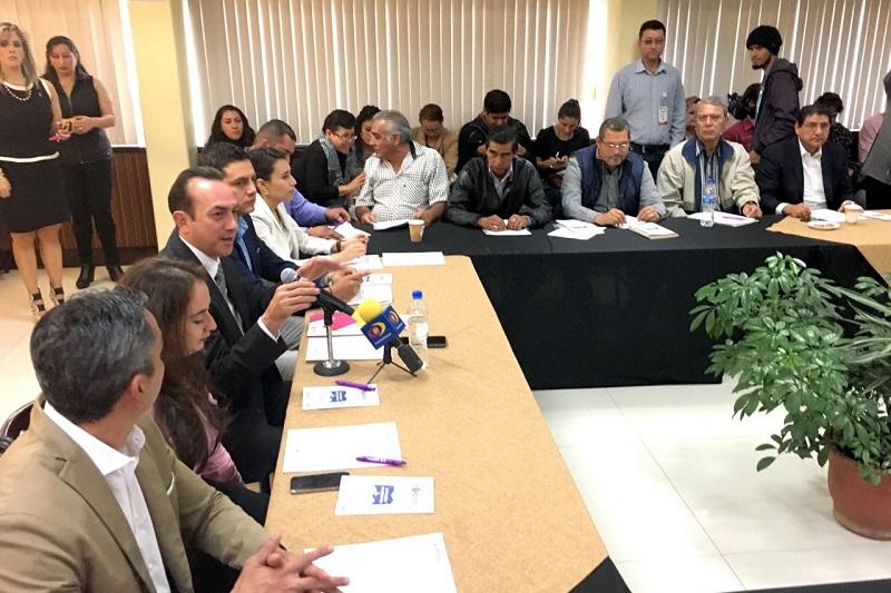 """""""Con estas acciones lograremos que los programas gubernamentales lleguen a los municipios en tiempo y forma de manera vertical, de tal manera que se trabaje eficiente y ordenadamente"""": Soto Sánchez"""