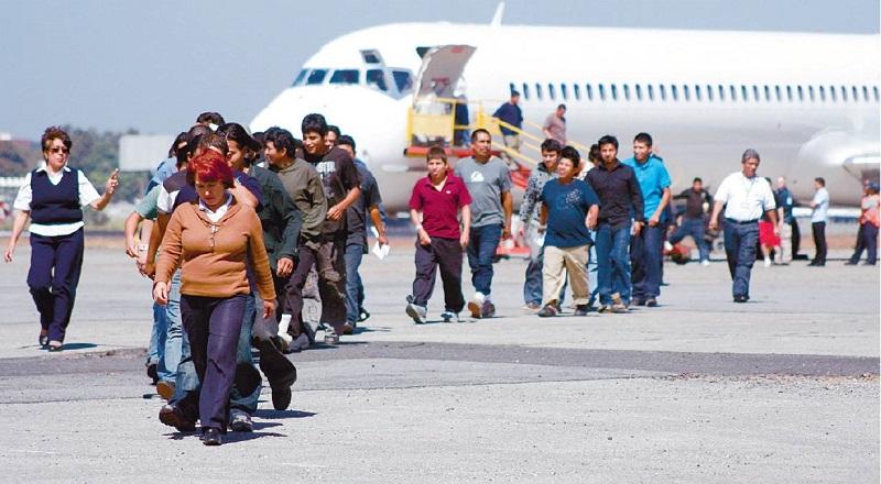 Los estados con más deportaciones desde EU son Michoacán, Oaxaca, Guerrero, Guanajuato, Puebla y Jalisco