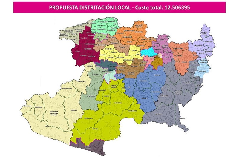 El Vocal Ejecutivo de Michoacán, David Alejandro Delgado Arroyo destacó la participación y disposición de los partidos políticos, quienes finalmente integraron una propuesta consensada dejando de lado los intereses políticos y privilegiando el derecho del ciudadano