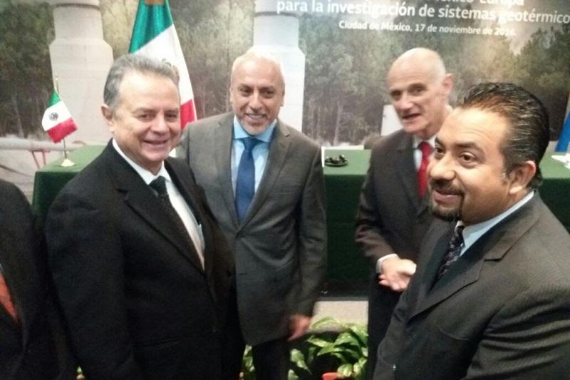 El objetivo es conformar un proyecto de investigación y desarrollo tecnológico que permita aplicar e innovar en el campo de los Sistemas Geotérmicos mediante la cooperación entre investigadores de México y de la Unión Europea