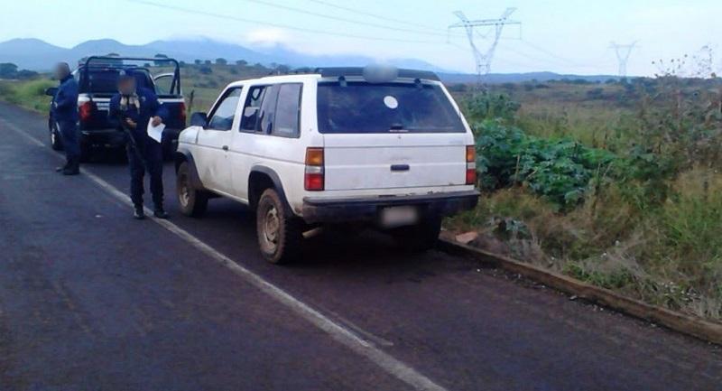 Los presuntos implicados, vehículos, droga y armas de fuego se pusieron a disposición de la autoridad competente