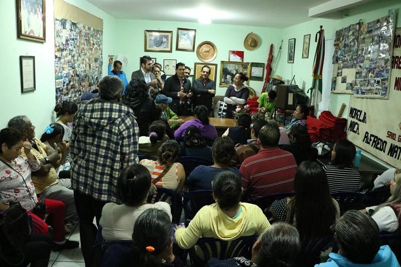 Núñez Aguilar agradeció el apoyo que siempre le han brindado y comentó que siempre tendrán un amigo en el Congreso del Estado