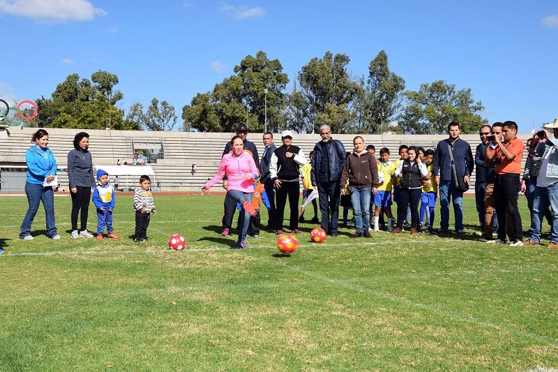 El DIF Michoacán fomenta valores en los menores a través de deporte