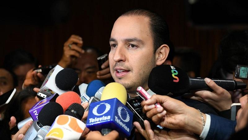 Marko Cortés demandó retomar las reuniones interparlamentaria en temas como seguridad, migración y comercio
