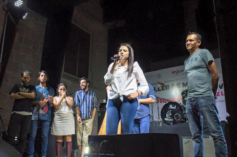 A través de la música el Instituto de la Juventud Michoacana buscará la reconstrucción del tejido social de Michoacán