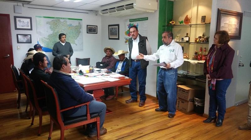 Jaime Rodríguez López, mencionó que el objetivo principal de hacer esta entrega de recursos es incrementar la productividad de las Unidades Económicas Rurales