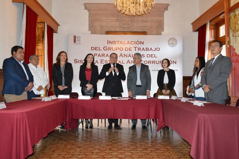 El Congreso del Estado se esforzará para que en breve Michoacán cuente con un Sistema Estatal Anticorrupción acorde a las necesidades de los michoacanos