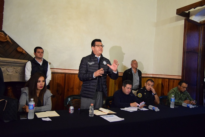 Se delineará una estrategia puntual de tránsito y movilidad, y se mejorarán las condiciones del cuerpo policial de Pátzcuaro