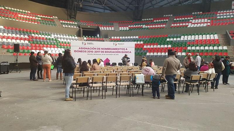 Insiste la CNTE en su postura de no permitir la entrega de plazas a las personas que se ciñan a lo dispuesto en la reforma educativa (FOTO: CORTESÍA)