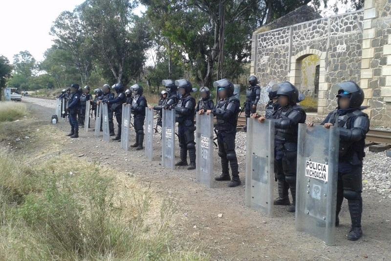 La SSP reitera su respeto a la libre manifestación siempre y cuando ésta se realice sin afectaciones a terceros como lo marca la ley
