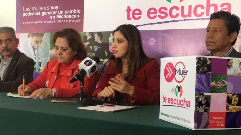 Así lo señaló la diputada del PRI en el marco del Día Internacional de la Eliminación de la Violencia contra la Mujer