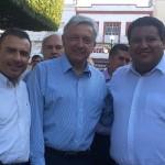 Durante la gira Calderón Torreblanca, estuvo acompañado del Coordinador de los diputados locales del PRD, Juan Pablo Puebla, el Coordinador de los presidentes municipales del PRD, Gustavo Ávila Vázquez, así como de liderazgos estatales de este instituto político