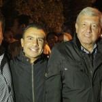 Calderón Torreblanca anunció que acompañarán durante toda su gira a López Obrador; para este domingo estarán en las plazas públicas principales de Zamora, Zacapu y Puruándiro a las 11:00, 13:30 y 17:00 horas respectivamente