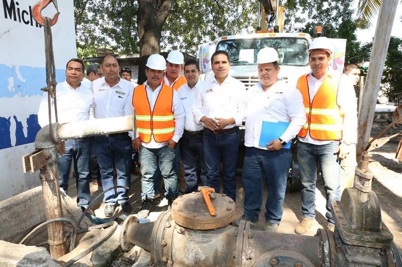 La obra que beneficiará a más de 30 mil habitantes, tendrá una inversión de 3.7 mdp