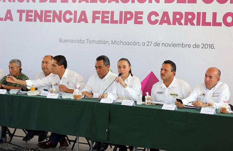 Entre los programas sociales que se llevarán a La Ruana destacan Beca Futuro y Sí Alimenta, así como pisos, techos y muros firmes