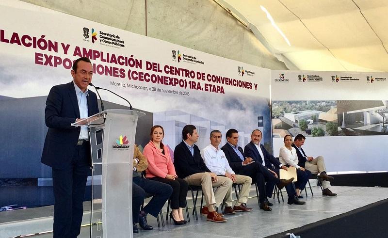Esto impulsará de manera contundente a Morelia como una de las ciudades más atractivas para eventos, expone Soto Sánchez