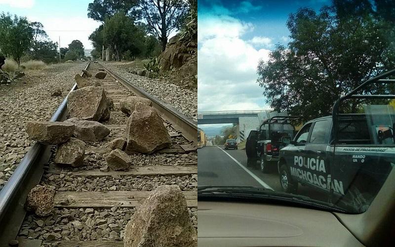 Para exigir plazas automáticas, normalistas insisten en bloquear las vías férreas