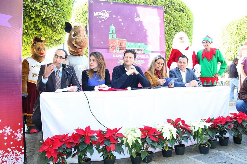 En este tenor, informó que será este viernes 2 de diciembre, a las 19:00 horas en la Plaza Melchor Ocampo, se darán el arranque oficial de este Programa Decembrino, el cual se desarrollará con una importante participación ciudadana