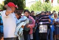 Este viernes se concluyó la semana con la visita a la colonia Jesús Romero Flores, comunidad de la Concepción, Hermosa Provincia, Gertrudis Sánchez, Mirador del Quinceo, donde también se entregaron 460 cobijas
