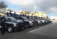 Elementos de la Policía Michoacán, Unidad Ambiental, han instalado filtros de revisión, realizan recorridos pie a tierra y patrullajes en la reserva a fin de disuadir delitos y proteger el bosque