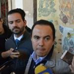 Ávalos Plata adelantó que el foro podría reubicarse en la sede del IJUM, sin embargo, miércoles y jueves se realizarán reuniones para escuchar las propuestas de los jóvenes (FOTO: MARIO REBOLLAR)