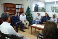 El alcalde Octavio Peña Córdova reconoce al gobierno que encabeza Silvano Aureoles Conejo por el respaldo que brinda a las y los productores del campo