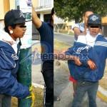 Al lugar arribaron elementos de la Gendarmería Nacional para recibir en custodia al presunto delincuente (FOTOS: CORTESÍA)