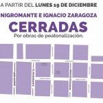 Puntualizó que a partir de este lunes, la calle Nigromante en sus cruces con Santiago Tapia y Melchor Ocampo, así como toda la calle de Miguel Bernal Jiménez (ubicada entre Santiago Tapia y Eduardo Ruíz), se convertirán en corredores peatonales para el disfrute de la ciudadanía