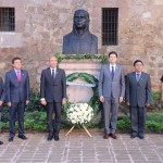 En este marco, el Director de la Casa Natal de Morelos y orador oficial del evento, enfatizó en la importancia histórica que tiene para nuestro país José María Morelos, quien fuera asesinado en Ecatepec el 22 de diciembre de 1815