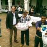 La Federación y el Gobierno del Estado apoyaron a Morelia con cerca de dos millones de pesos para apoyar a pequeños productores de escasos ingresos, con el Programa de Atención a Siniestros, atendiendo a 365 productores y mil 192 hectáreas