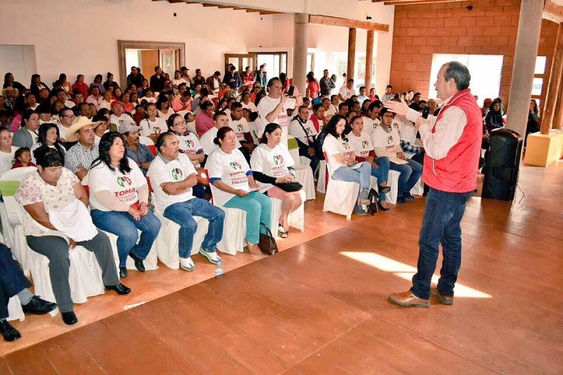 """Silva Tejeda exhortó a la militancia a trabajar en la unidad y en equipo """"porque esa es nuestra verdadera fuerza, ahí radican los triunfos futuros para trabajar por un Michoacán y un México mejor"""""""