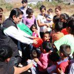 Núñez Aguilar dio un mensaje a todos los niños que tuvo la oportunidad de apoyar con este regalo de día de reyes , en el cual les mencionaba la importancia de comer saludable y dedicarle mucho trabajo a sus estudios