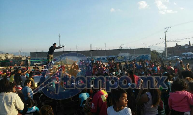 Vallejo Mora encabezó un evento con motivo del arribo de los Reyes Magos en la colonia Torreón Nuevo