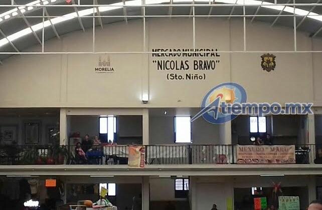 El también conocido como Mercado de Santo Niño se encuentra en la calle Nicolás Bravo del Centro Histórico