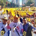 """""""Y estaremos haciendo lo propio en Michoacán, desde la trinchera que nos toque, hoy se vio un PRD unido, una convocatoria fuerte y tenemos que replicar la unidad de las fuerzas progresistas, para enfrentar esta resistencia y esta lucha de manera unida"""": Puebla Arévalo"""