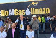 El diputado del PRD llamó a cerrar filas para apoyar a todos los mexicanos y michoacanos, afectados por el aumento de la gasolina y el diésel