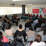 Durante su intervención, la senadora Rocío Pineda Gochi, aseguró que este ejercicio legitima jurídicamente y operativamente a la estructura de las mujeres priístas de Michoacán