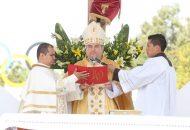 Previamente, Carlos Garfias hizo su profesión de fe en la Catedral Metropolitana de Morelia, en presencia del nuncio apostólico, Franco Coppola, así como del Cardenal de Morelia, Alberto Suárez Inda