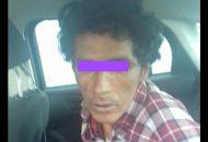 Los elementos policiales detuvieron a una persona del sexo masculino, quien dijo llamarse Camarena B. y el cual quedó a disposición de las autoridades correspondientes para su investigación