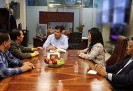 Corona Martínez se comprometió a gestionar una mesa de trabajo con la COCOTRA, para atender de manera integral la problemática
