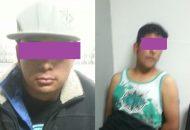 Los detenidos fueron puestos a disposición del Ministerio Público para su certificación