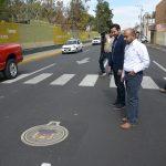 No sólo se han reforzados los trabajos de reencarpetamiento en el municipio, sino que las brigadas redoblan esfuerzos para concluir en tiempo y forma con esta labor: Plaza Urbina