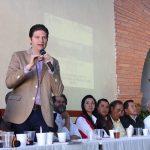 Martínez Alcázar refrendó el enorme compromiso que tiene su Administración con las Tenencias en todos aspectos, razón por la cual pidió a todo el gabinete hacer presencia en Santa María de Guido, lugar de la reunión