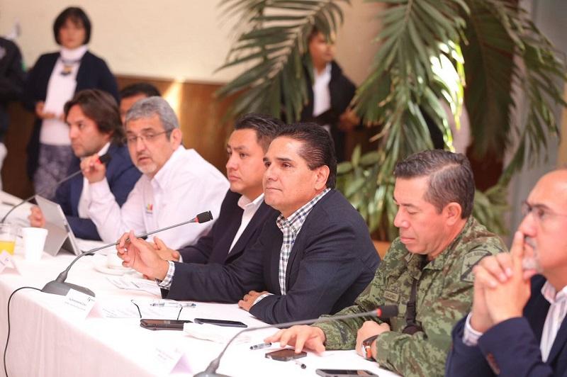 Encabeza el gobernador Silvano Aureoles reunión con el Grupo de Coordinación Michoacán y la quinta sesión del Consejo Ciudadano para el Desarrollo Integral del municipio